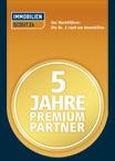 Stein-Immobilien ist 5 jahre Premium Partner von IMMOBILIEN SCOUT 24